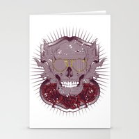 disco Stationery Cards featuring Disco by Tshirt-Factory