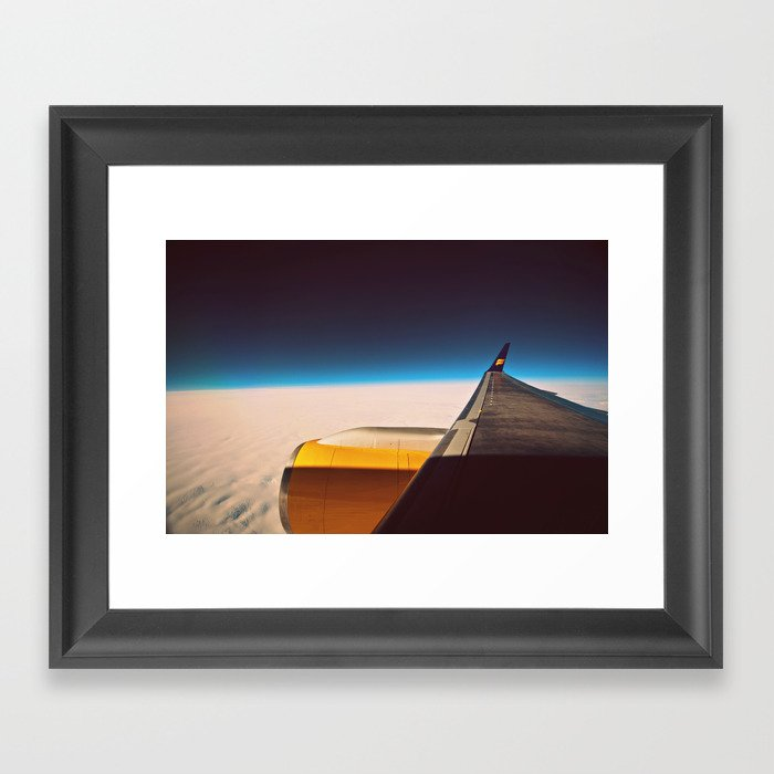 Travel. Framed Art Print
