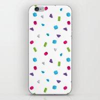 confetti iPhone & iPod Skins featuring Confetti by Eric Zelinski