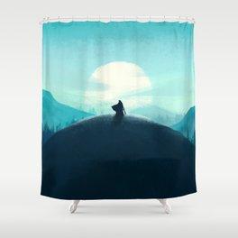 Ironside Shower Curtain