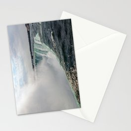 Water waterfall 5 Stationery Cards