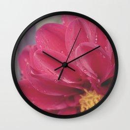 Water Petals II Wall Clock