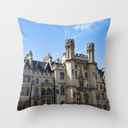 Historic London Building Throw Pillow