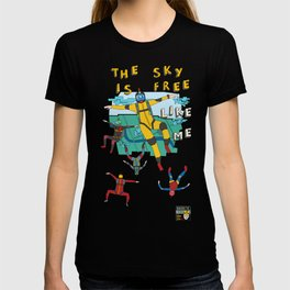 Skydive in the sky T-shirt