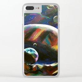 Planet Euphoria Clear iPhone Case