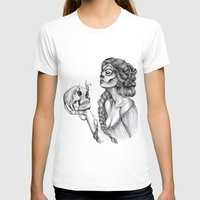 sugar skull T-shirts featuring Sugar Skull by April Alayne