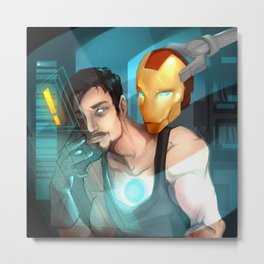 I Thank you Iron Metal Print