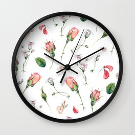Minaudiere Florets Wall Clock