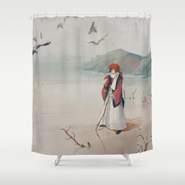 An Old patriot Shower Curtain