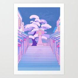 Stairway to the Spirit World Art Print