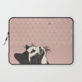 Cat on Pink - Lo Lah Studio Laptop Sleeve