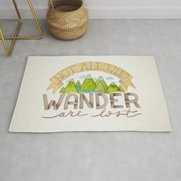 Not All Who Wonder Rug
