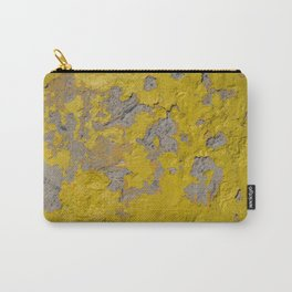 Yellow Peeling Paint on Concrete 1 Carry-All Pouch