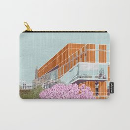 Spring at Barnard College | Barnard Seasons Series Carry-All Pouch