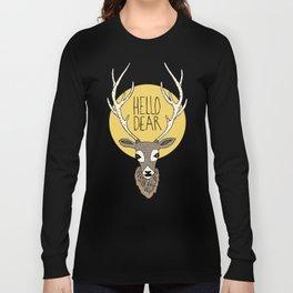Good Manners - Hello Dear Long Sleeve T-shirt