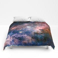 Carina Nebula's Hidden Secrets Comforters