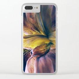 Iris Fantasy Clear iPhone Case