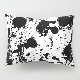 Ink spattered all over - Pattern #society6 #lifestyle Pillow Sham