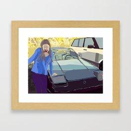 Oh My God! Framed Art Print