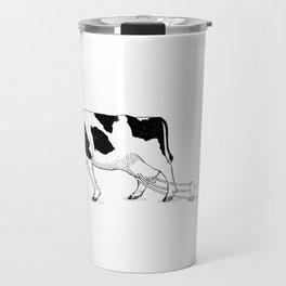 Cow vs. Chicken Travel Mug