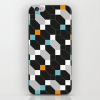 depeche mode iPhone & iPod Skins featuring Mode duex by blacknote