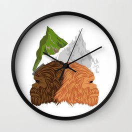 Distant Relatives Wall Clock