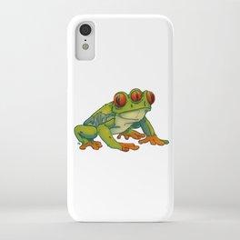 3 EYES FROG iPhone Case