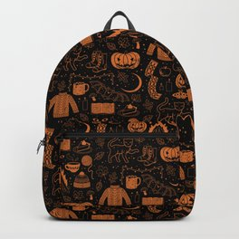 Autumn Nights: Halloween Backpack