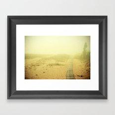 Edge of the World  Framed Art Print