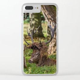 The Stag. Clear iPhone Case