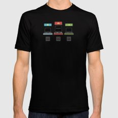 ready player 1, version 2 SMALL Black Mens Fitted Tee