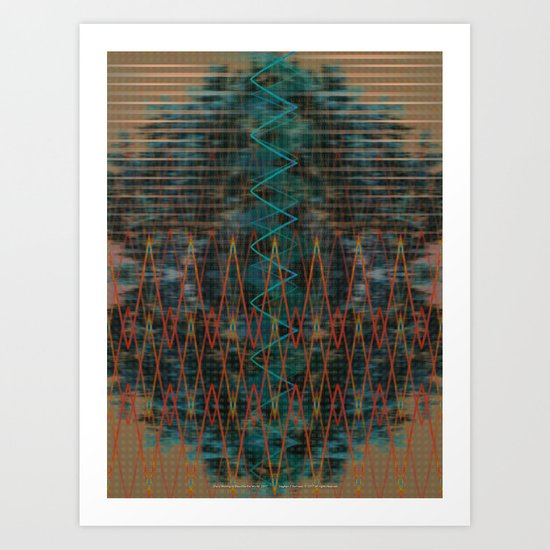 She is Moving to Describe the World Art Print