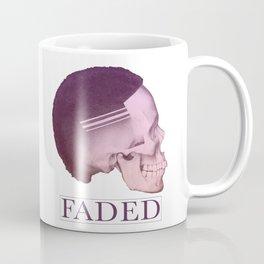 Barber Shop Faded Skull Graphics Design   Haircut Skin Fade Coffee Mug