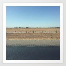 Highway 99 Art Print