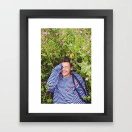 HS Another Man Framed Art Print