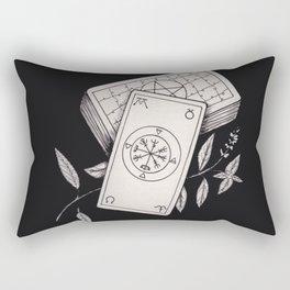 Wheel of Fortune Tarot Rectangular Pillow