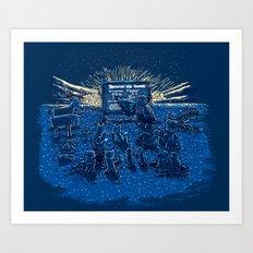 Night Class Art Print