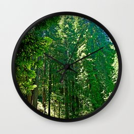 Muir Woods Study 5 Wall Clock