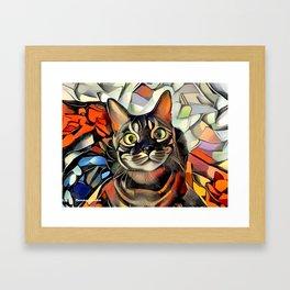 Hooman Spoil Me! Framed Art Print