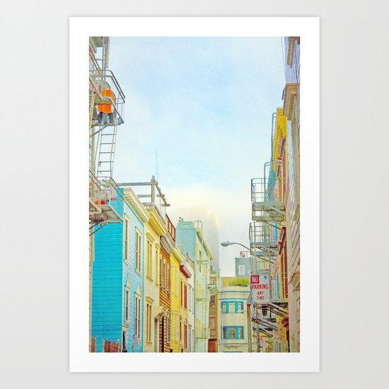 SF Tops 1 Art Print