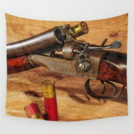 Old Double Barrel Stevens Wall Tapestry