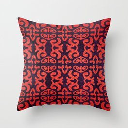 Red Cloth Throw Pillow