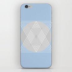 Everything belongs to geometry #7 iPhone & iPod Skin
