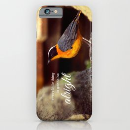 Every little thing iPhone Case