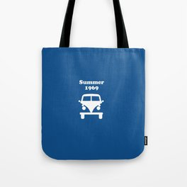Summer 1969 - blue Tote Bag