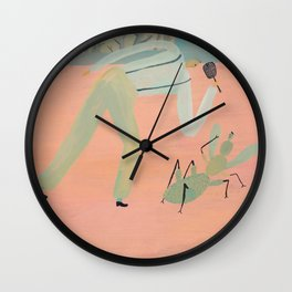 Bug Problems Wall Clock