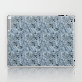 Light Blue Celestite Close-Up Crystal Laptop & iPad Skin