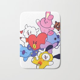 BT21 Crew Bath Mat