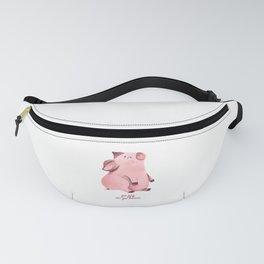 Go Pig or Go Home Fanny Pack