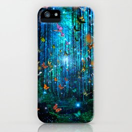 Magical Path Butterflies iPhone Case